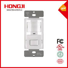 single pole passive infrared wall switch occupancy motion sensor with ul