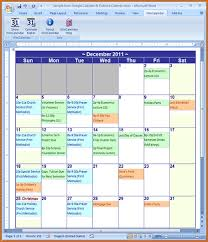 Calendar Template Microsoft Word 2011 Anekanta Info