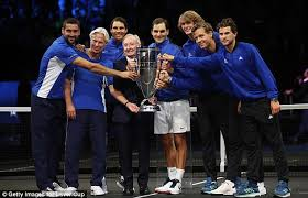 Laver Cup Chicago Seating Chart Roger Federer Leads Team Europe To Laver Cup Victory Daily