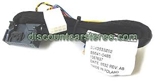 bt bkr23m motorola hands installation harness for becker be6612 be6627 and cdr 24 be6645 in porsche and be6806 for chrysler crossfire radios once everything is installed a hands conversation