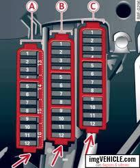 audi q5 i fuse box diagrams schemes vehicle com fuse panel a black
