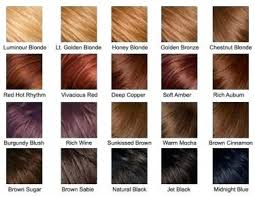 Shades Matrix Hair Color Redken Red Chart Template