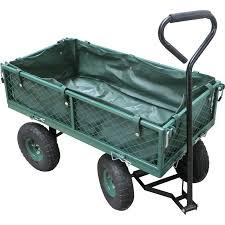 garden cart. Saxon Steel Mesh Garden Cart. I/N: 3360969 Cart G