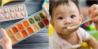 Chuẩn bị đồ ăn dặm cho bé thế nào để mẹ nhàn con đủ dinh dưỡng?