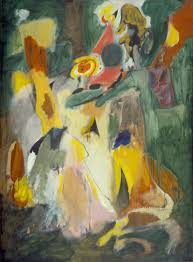 abstract expressionism art term tate arshile gorky waterfall 1943