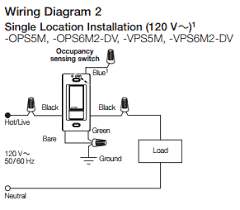 wiring diagram for lutron lighting wiring image electrical is it possible to install an occupancy sensor switch on wiring diagram for lutron lighting