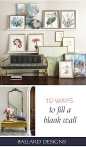 10 ways to fill a blank wall how to