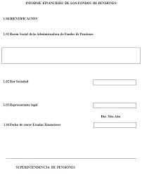 Informe Financiero Anexo N 1 Informe Financiero De Los Fondos De Pensiones Sp