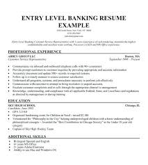 Banking Resume Personal Banker Objective Investment Cover Letter