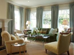 Green And Brown Living Room Curtains Living Room Ideas