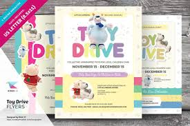 Food Drive Flyer Samples Toy Drive Flyer Templates Flyer Templates Creative Market 20