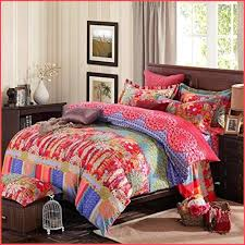 full size of blanket lelva bohemian bedding set fl duvet cover cotton queen king boho style