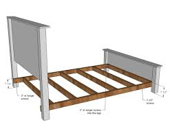Bed Rails To Attach Headboard And Footboard