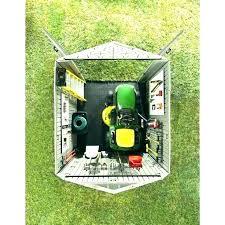riding mower storage shed lawn this diy st lawn mower storage