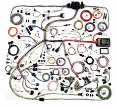 complete wiring harness for cars solidfonts 500695 mustang american autowire highway 22 complete wiring kit