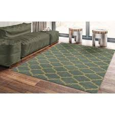 paterson collection contemporary moroccan trellis design sage green 8 ft x 10 ft area