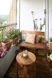 AD Small Furniture Ideas to Pursue For Your Small Balcony 22