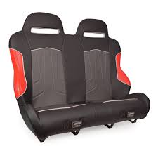 prp polaris rzr 900 1000 turbo xc rear suspension bench seat red
