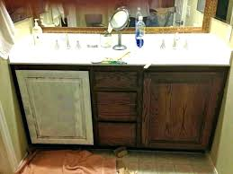 exciting how to refinish a bathroom cabinet how to refinish bathroom vanity repainting bathroom cabinets painted