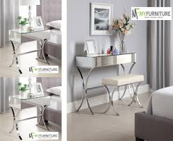 Mirrored Side Tables Bedroom White Bedroom With Mirrored Dressers Folding Dresser Folding