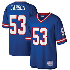 Retired Player Royal Mitchell New Legacy York Ness Jersey Replica Carson Men's Giants Harry amp;