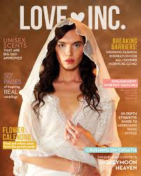 Love Inc Wedding Magazine Shatters Gender Norms With Striking