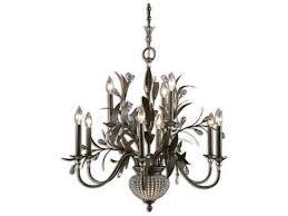 uttermost cristal de lisbon nine light 32 25 wide chandelier