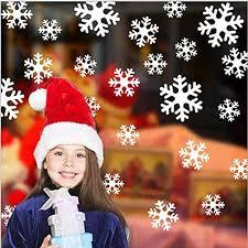 135 Fensterbilder Weihnachten Selbstklebend Fensterdeko