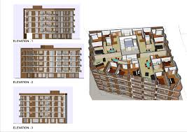 Apartment Modern Apartment Building Plans