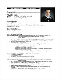 Letter Resume Examples 2016 Philippines Samples With Philippine