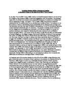 literature essay on the crucible gcse english marked by gcse essay on act iii of the crucible