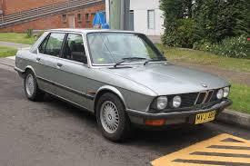 BMW 5 Series (E28) - Wikipedia