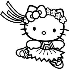 Hello Kitty Colouring In Pages Hello Kitty Coloring Pages Printable