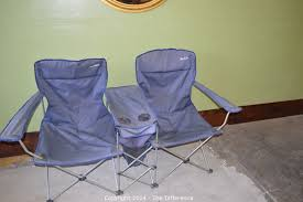 maccabee double camp chair