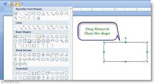 How To Make Flow Chart In Ms Word How To Make A Flow Chart In Microsoft Word 2007