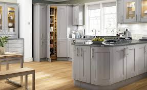 Shaker style kitchens  7. Benchmarx Somerset Light Grey (DOF) v3 (1)
