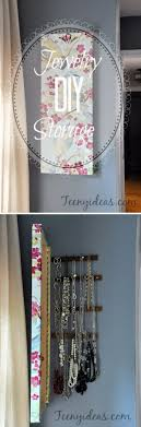 30 Brilliant DIY Jewelry Storage & Display Ideas