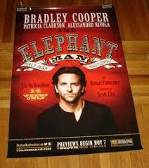 bradley cooper elephant man poster. Modren Poster THE ELEPHANT MAN BRADLEY COOPER BROADWAY NYC ANDREW RANNELLS 4FT POSTER And Bradley Cooper Elephant Man Poster E