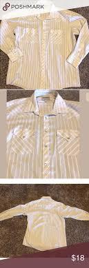 Ely Cattleman Stripe Pearl Snap Western Shirt Xl Ely