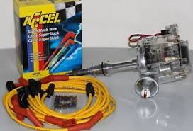 ford hei clear distributor amp accel spark plug wires ford 289 302 hei clear distributor amp accel