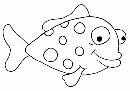 Small Picture Stunning Fish Template Ideas New Printable Coloring Pages