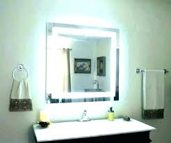 makeup lighted mirror wall mount hardwired makeup