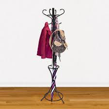 Coat Rack Office GrayBunny Metal Coat Rack Hat Stand With Umbrella Holder Steel 41