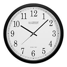 magnificent la crosse technology wall clock of nice decoration atomic clocks com