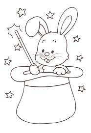 Lusso Disegni Per Bambini Da Colorare 3 Anni Coniglio Migliori