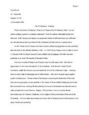 Starting Essays Walking Essay Wilderness V Walking Alternate Beginning Essay