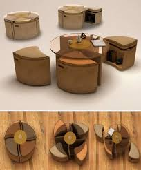 function furniture. Small Space Multi-Function Furniture: The Windwheel Function Furniture