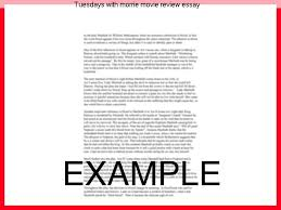 tuesdays morrie movie review essay term paper writing service tuesdays morrie movie review essay just did a peer review of a classmates research
