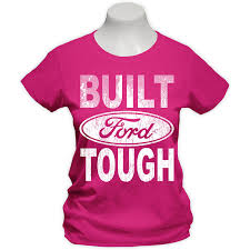 pink built ford tough logo. Delighful Logo Built Ford Tough Pink Womens ShirtM  Turn Heads In This Greatlooking Pink  100 Cotton Tee Ribbed Crew Collar Cap Sleeves And A Contoured Fit For  For Logo L