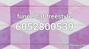 Meme roblox id codes are the set of codes that can be used to play the meme sounds. Funee Hat Freestyle Roblox Id Roblox Music Codes